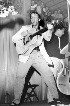 Elvis - performing in the early years