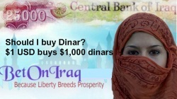 Can you profit later this year buying Iraqi Dinar now?