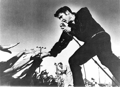 Elvis the King of Rock