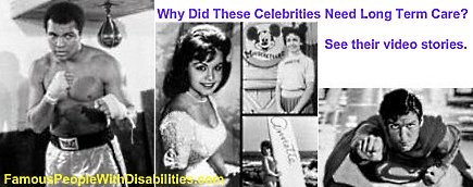 Videos of Famous People with Disabilities