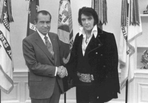 Elvis Visits President Nixon