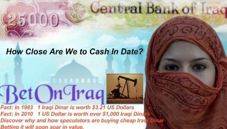 Why people worldwide are buying up cheap Iraqi Dinar now for a big payday later.