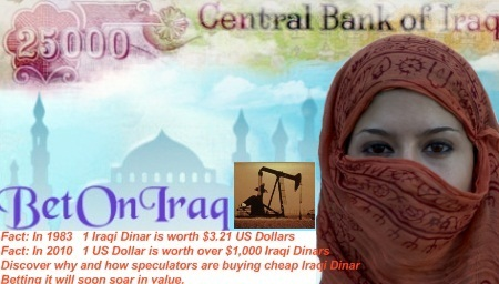 Why people worldwide are buying up cheap Iraqi Dinar now betting it will soon soar in value!