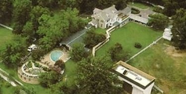 Sky view of Graceland